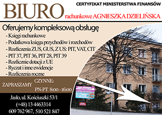 Biuro rachunkowe Agnieszka Dzielińska