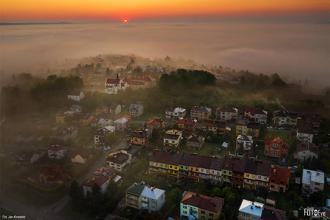 Otulone mgłą - najlepsze jasielskie zdjęcie maja