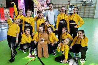 Zespół Taneczny Rising Stars AT DANCE Jasło I wicemistrzem Polski WADF