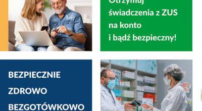 Rusza kampania informacyjno-edukacyjna dla klientów ZUS