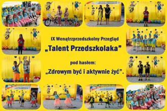 Przedszkolaki promują aktywność fizyczną