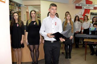 Obchody 100. rocznicy odzyskania przez Polskę niepodległości wPBW w Krośnie, Filia w Jaśle